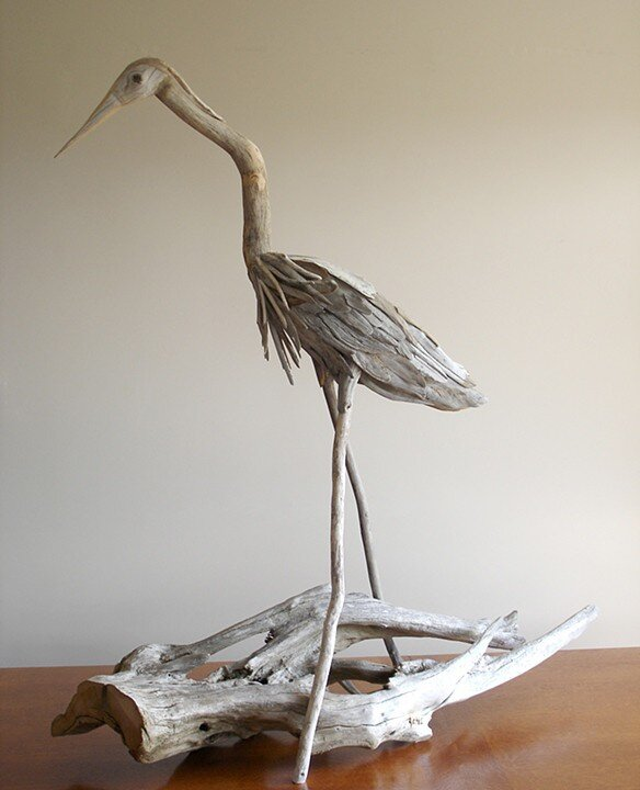 Driftwood-sculptures by Richel Vincent (3)