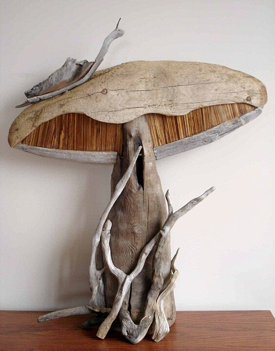 Driftwood sculptures by vincent richel Driftwood sculptures for garden