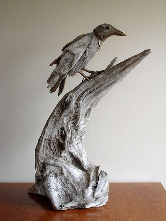 Driftwood-sculptures by Richel Vincent (9)