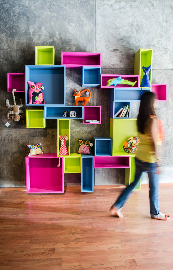 Innovative furniture for a expressive room, by SuiSo (4)