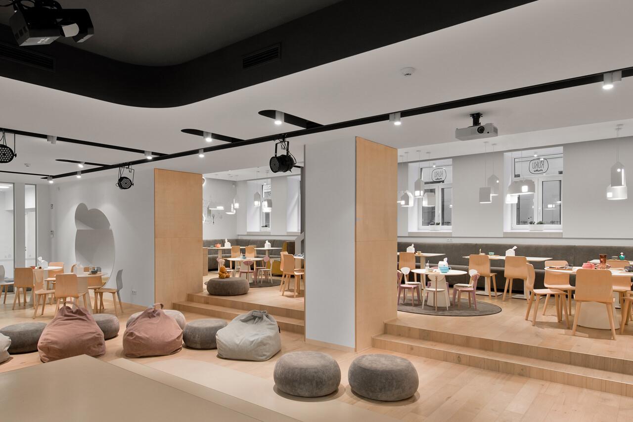 kukumuku niche restaurant by plazma architecture. Black Bedroom Furniture Sets. Home Design Ideas