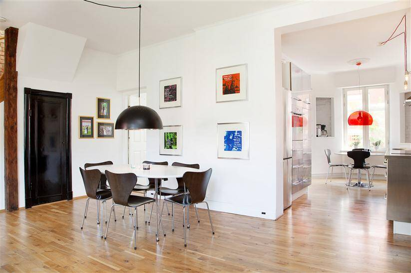 Apartment in Malmo - more united design styles give freshness (1)