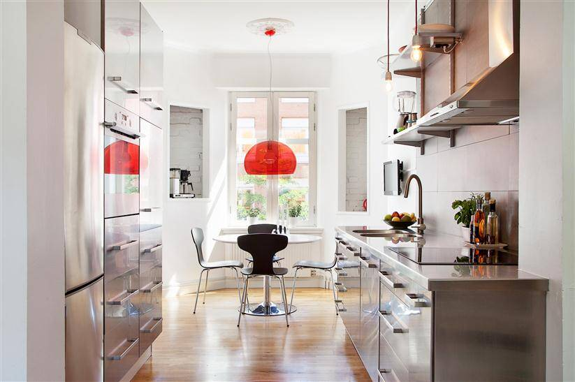 Apartment in Malmo - more united design interior styles give freshness (4)
