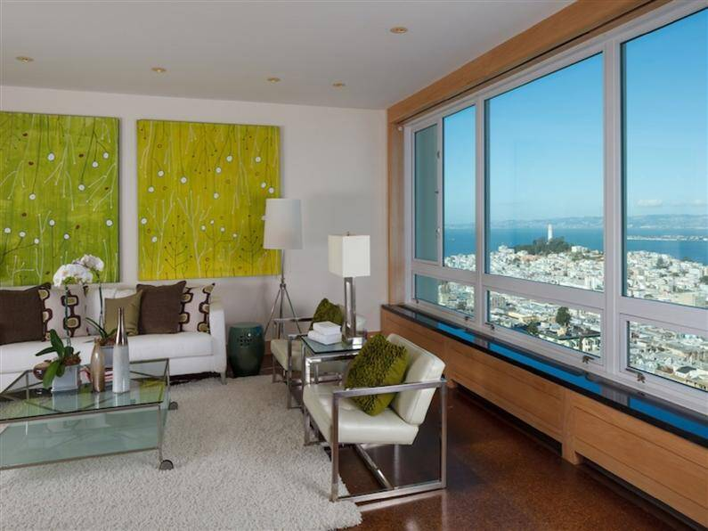 Apartment with spectacular view over the city of San Francisco (6) (Custom)
