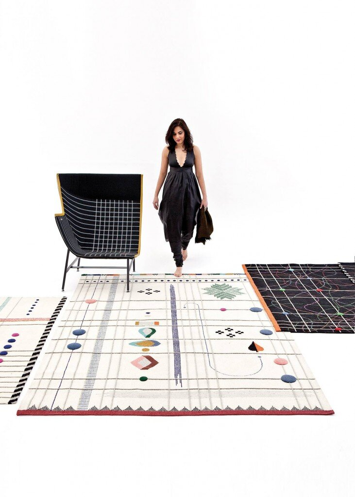 Doshi Levien Rug collection for Nani Marquina