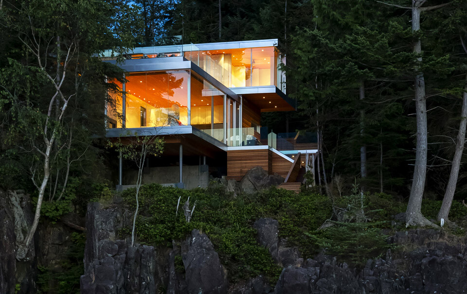 Gambier Island House: where beauty and silence reign, by McFarlane Green Biggar Architects