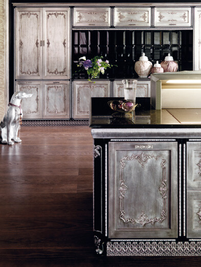 Kitchen inspired by the Baroque and Venetian theater (10)