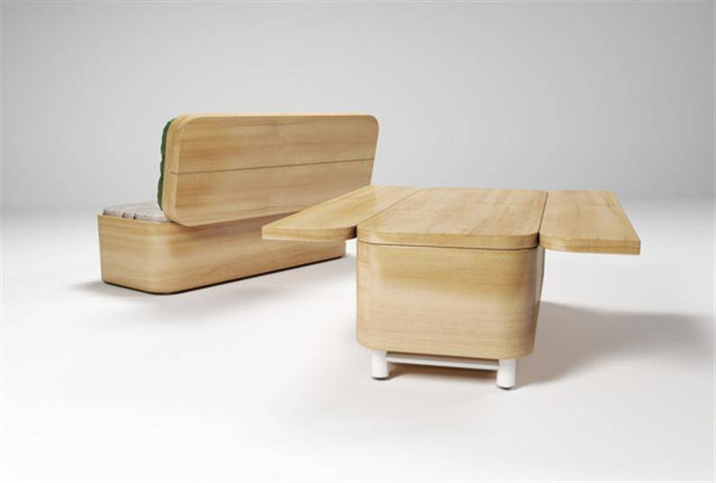Multifunctional Furniture Convertible Sofa By Julia Kononenko