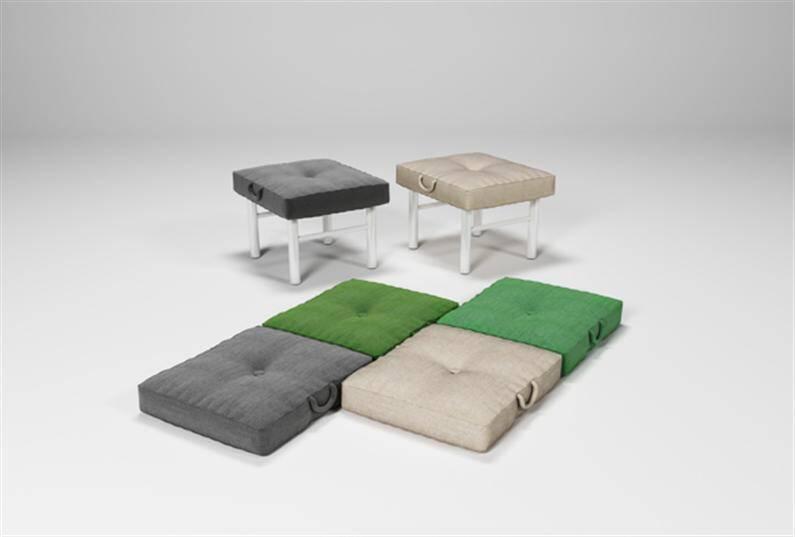 Multifunctional furniture convertible sofa by Julia Kononenko (4) (Custom)