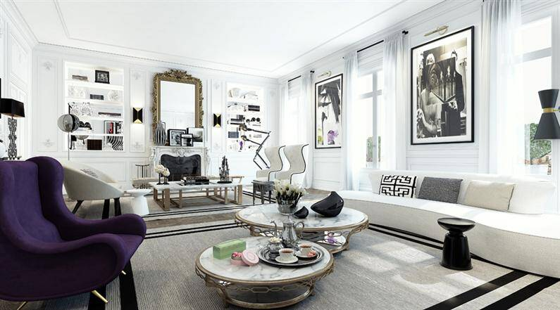Paris apartment magnific artistic vision by Ando Studio (4)