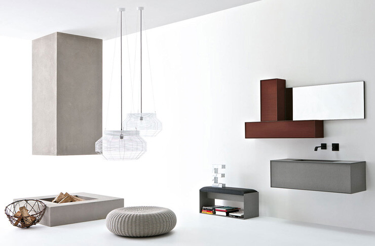 VoloGreen minimalist bathroom collection by Altamarea (4)