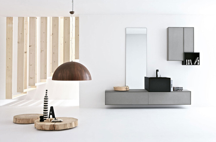 VoloGreen minimalist bathroom collection by Altamarea (9)