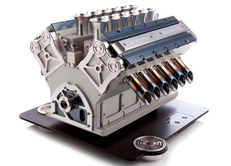 Espresso Veloce, coffee machine  a tribute to Grand Prix (2) (Custom)