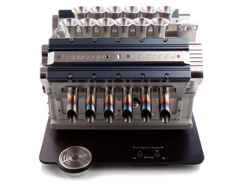 Espresso Veloce, coffee machine  a tribute to Grand Prix (3) (Custom)