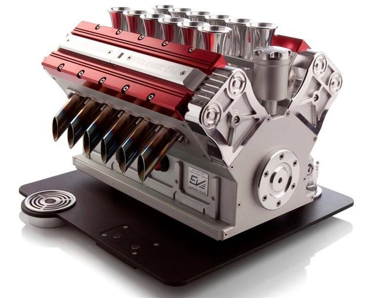 Espresso Veloce, coffee machine  a tribute to Grand Prix (Custom)