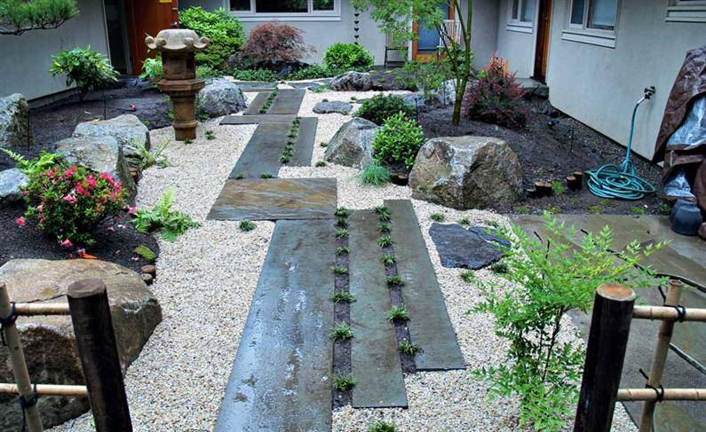 Japanese Garden Ideas For Landscaping japanese garden: spiritual refuge designed for contemplation and