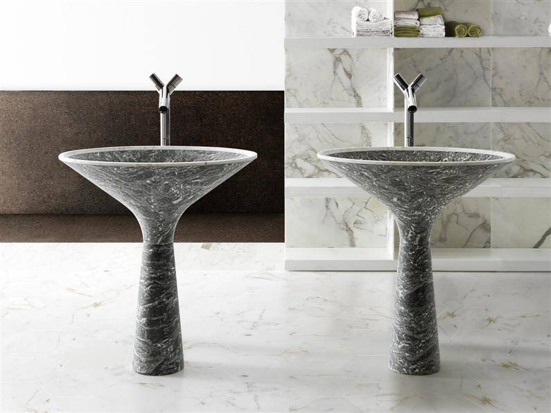 Marble bathroom furniture by Kreoo (7)