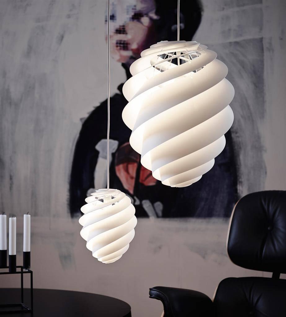 Swirl lamp light and delicately by Le Klint (6) (Custom)