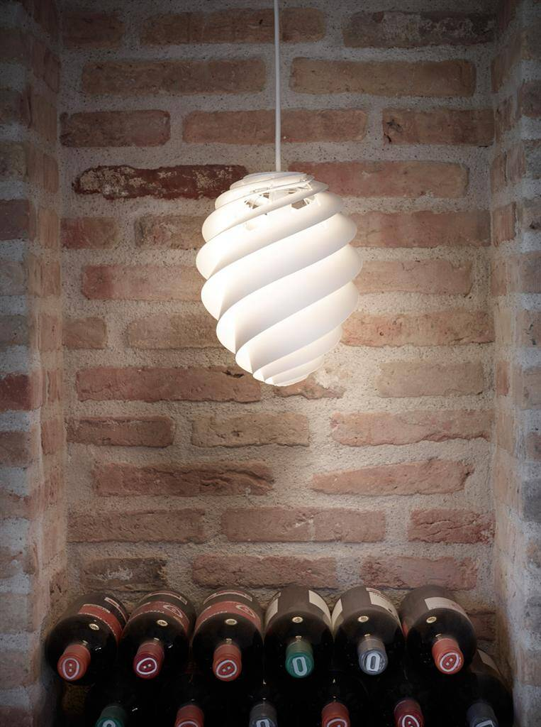 Swirl lamp light and delicately by Le Klint (7) (Custom)