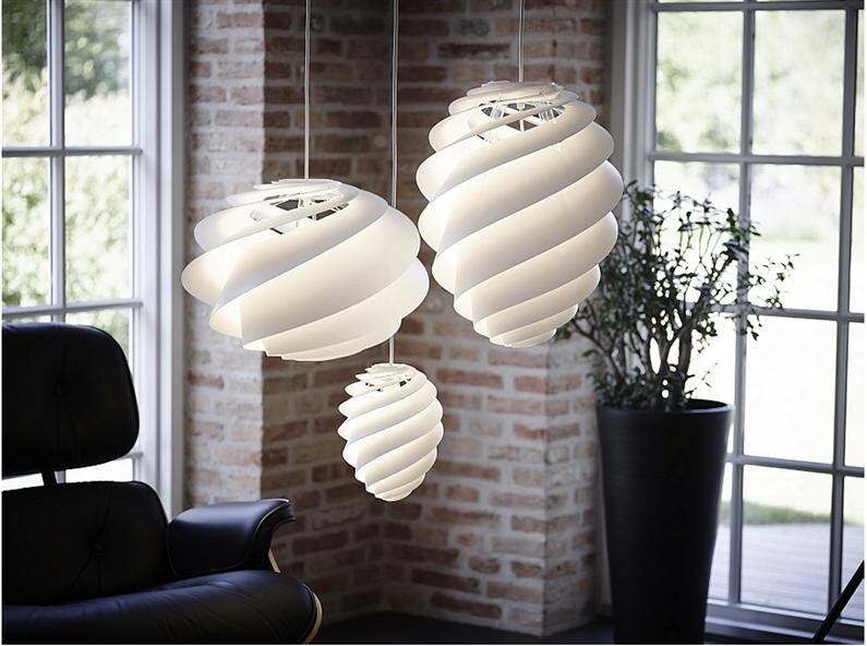 Swirl lamp light and delicately by Le Klint (Custom)