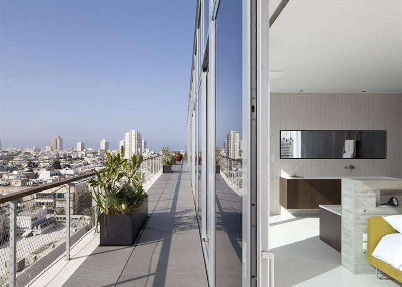 Tel Aviv penthouse by Pitsou Kedem (23)