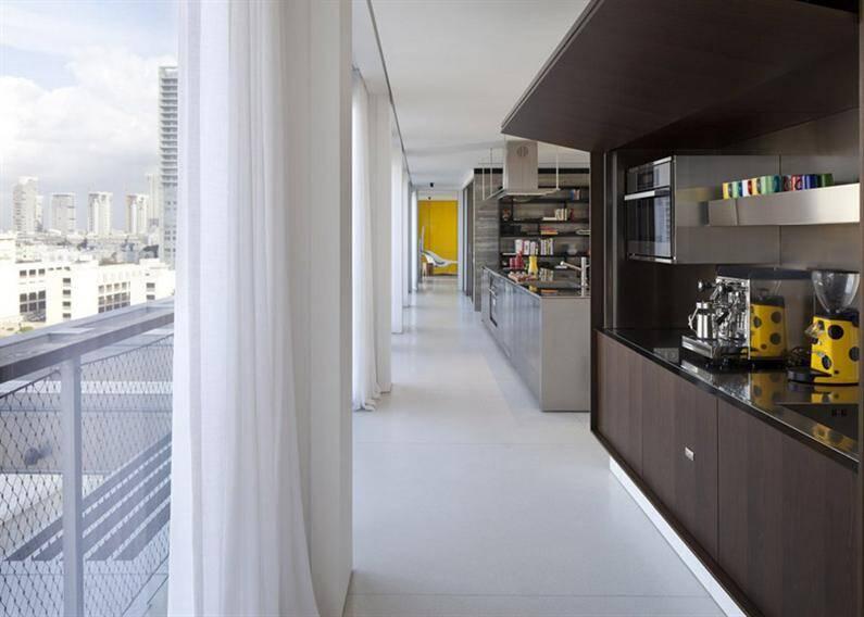 Tel Aviv penthouse by P Kedem (3)