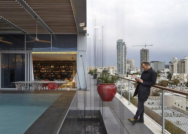 Tel Aviv penthouse by Pitsou Kedem (7)