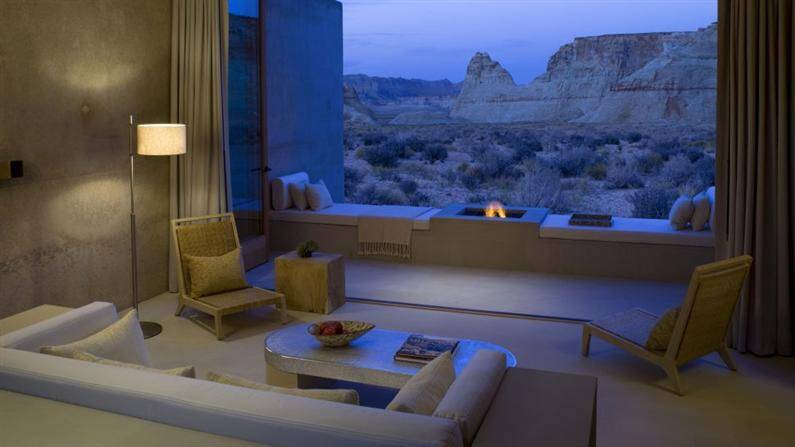 Amangiri Hotel and Spa spectacular project in Canyon Point - www.homeworlddesign.com