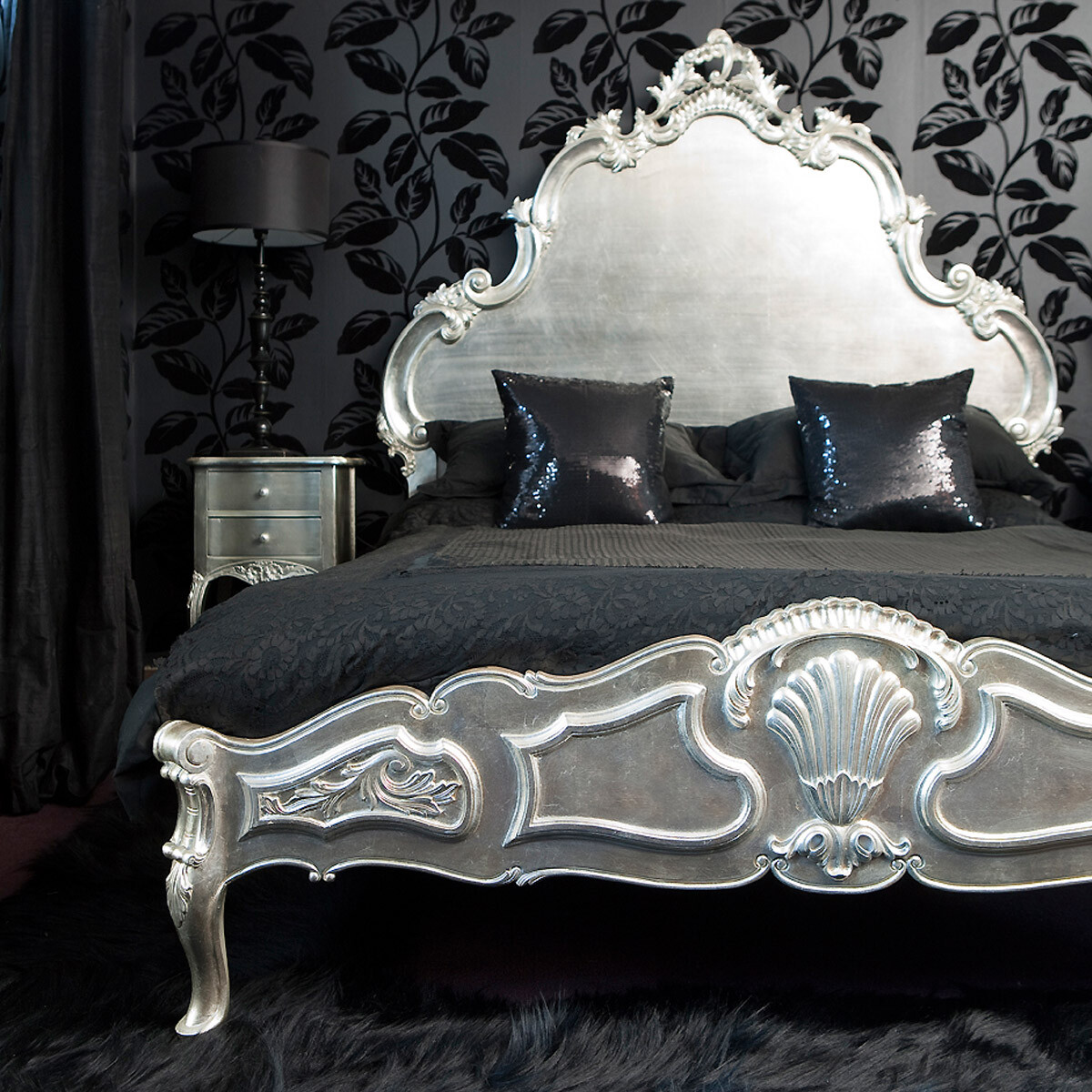 French Bedroom Black And White Teenage Bedroom Wallpaper Uk Wooden Bedroom Blinds Bedroom Oasis Decorating Ideas: French Bed: Rafinament, Elegance And Romance In Your Bedroom