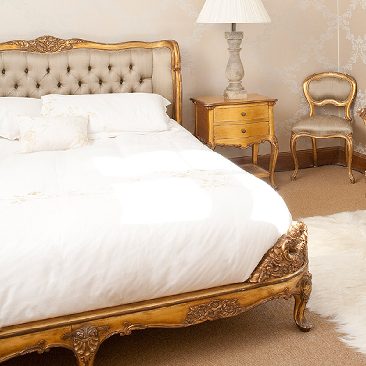 French bed rafinament elegance and romance in your bedroom for French luxury