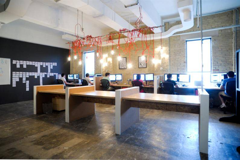 work space by redesign for resolution interactive media