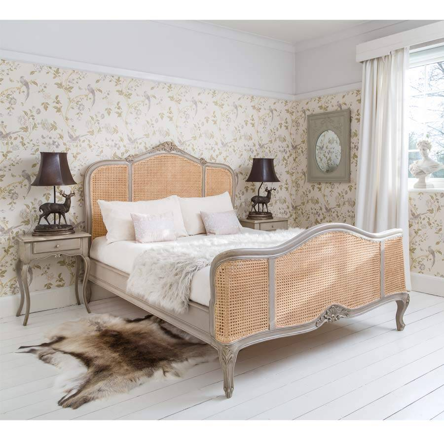 french bed - Normandy -The French Bedroom Company - www.homeworlddesign.com