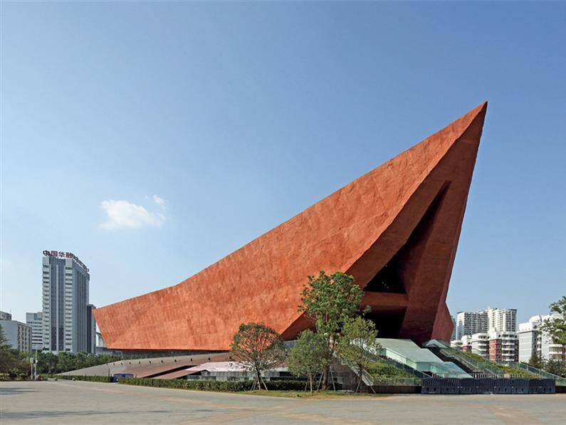 A Revolutionary Building to commemorate the Xin Hai Revolution a Wuhan, China - www.homeworlddesign.com
