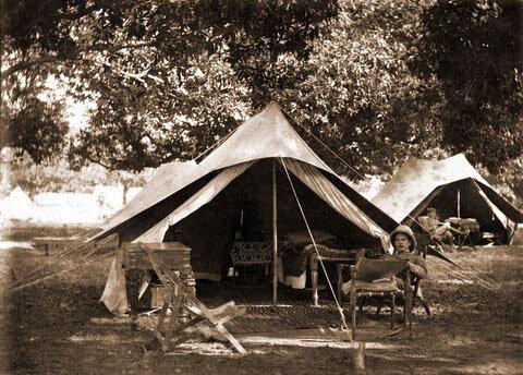 Campaign Furniture From British Raj Period By Ju0026R Guran