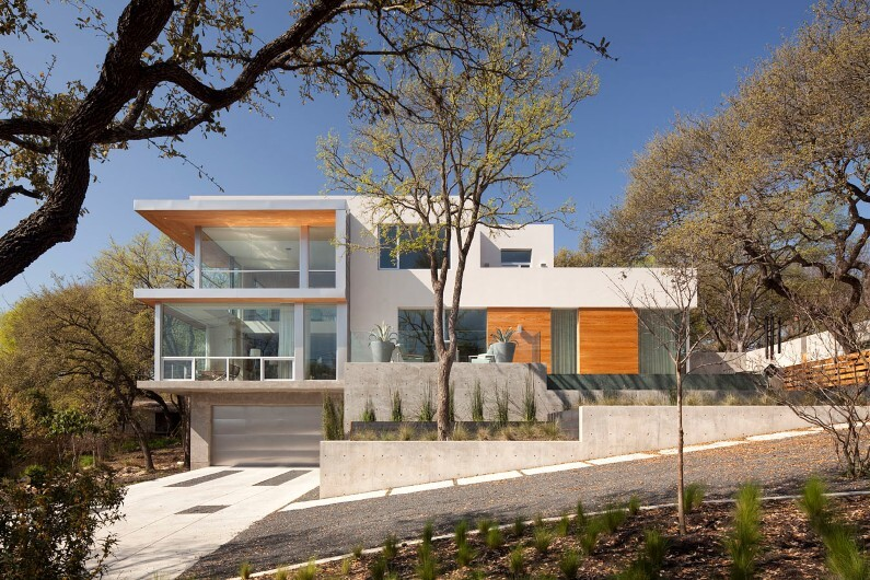 City View Residence by Dick Clark Architecture: minimalist architectural approach with a simple divided volume