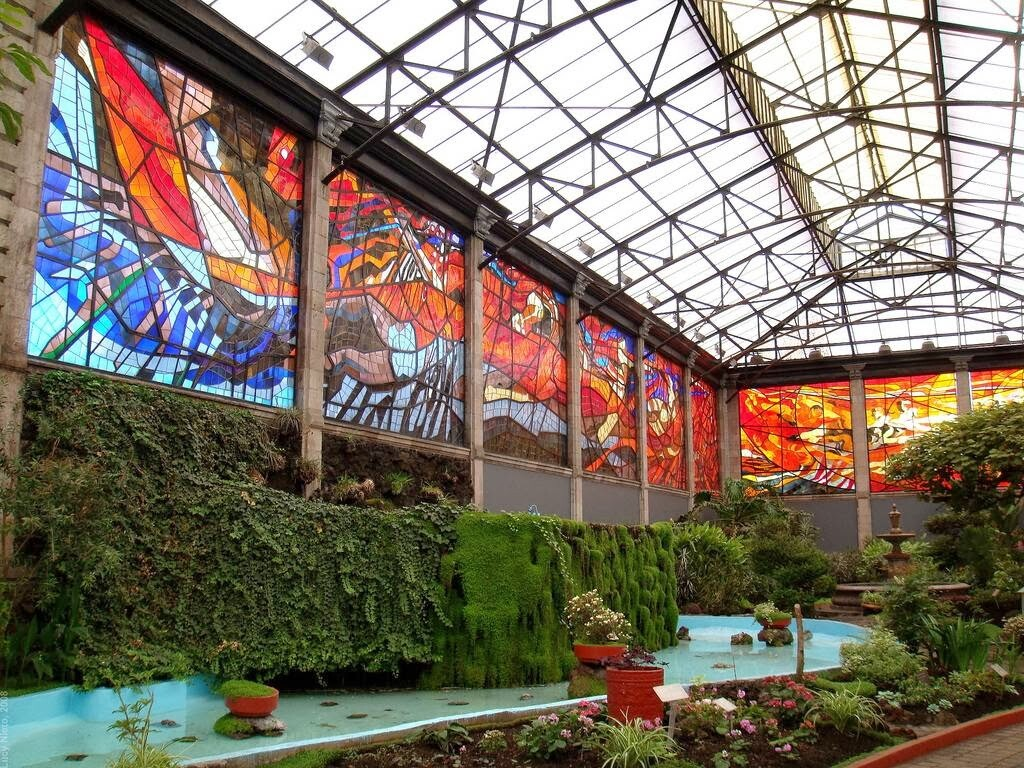 Cosmovitral Toluca Mexico stained glass botanical garden - www.homeworlddesign.com (6)