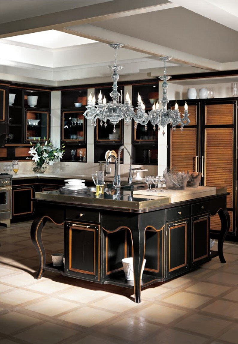 Modern Italian Sliding Etched Glass Door: Brings Together Traditional And