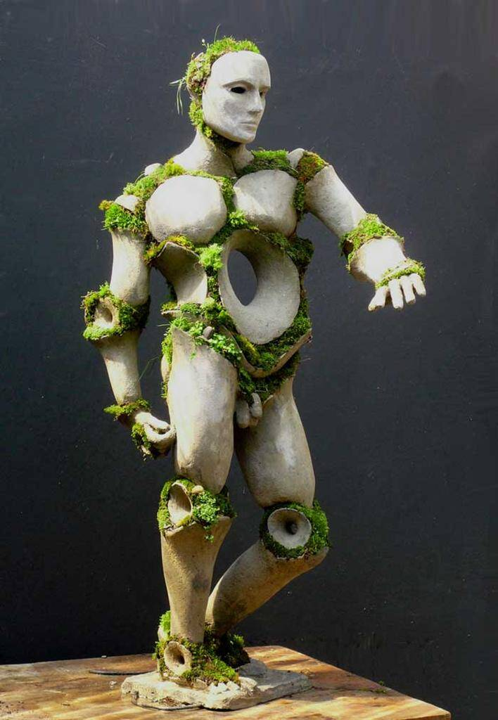 Apollo by Opiary - Extraordinary symbiosis between art and botany - www.homeworlddesign.com