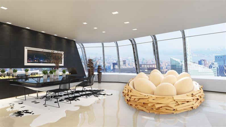 Giant Birdsnest for Creating new ideas  OGE Creative Group - www.homeworlddesign.com (1)