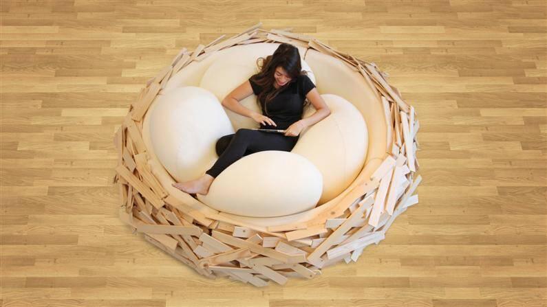 Giant Birdsnest for Creating new ideas  OGE Creative Group - www.homeworlddesign.com (2)