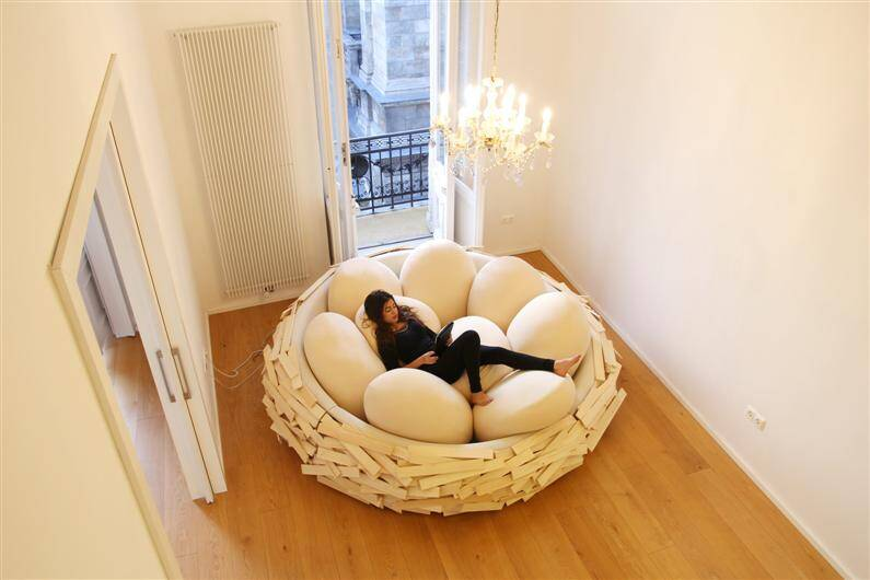 Giant Birdsnest for Creating new ideas  OGE Creative Group - www.homeworlddesign.com (4)