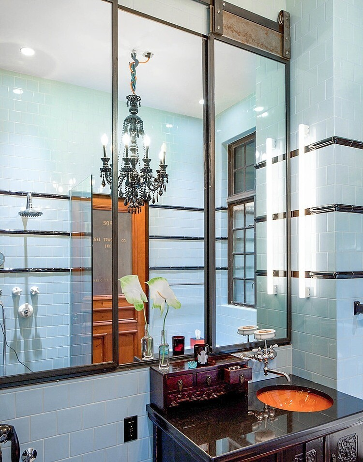 NoHo Residence Loft style with Art deco accents by-Wettling Architects - www.homeworlddesign.com (6)