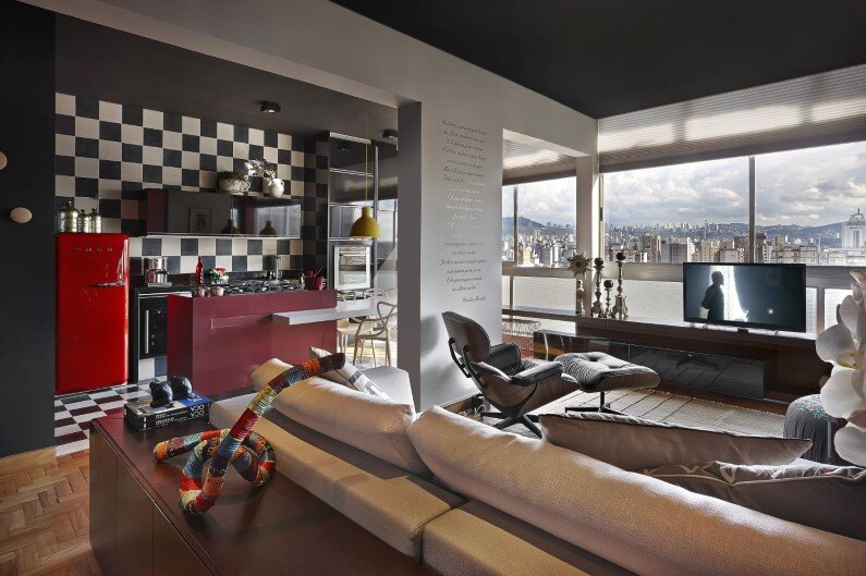 Retro style revived Santo Agostinho apartment renovated by architect Gislene Lopez - www.homeworlddesign.com   (2)