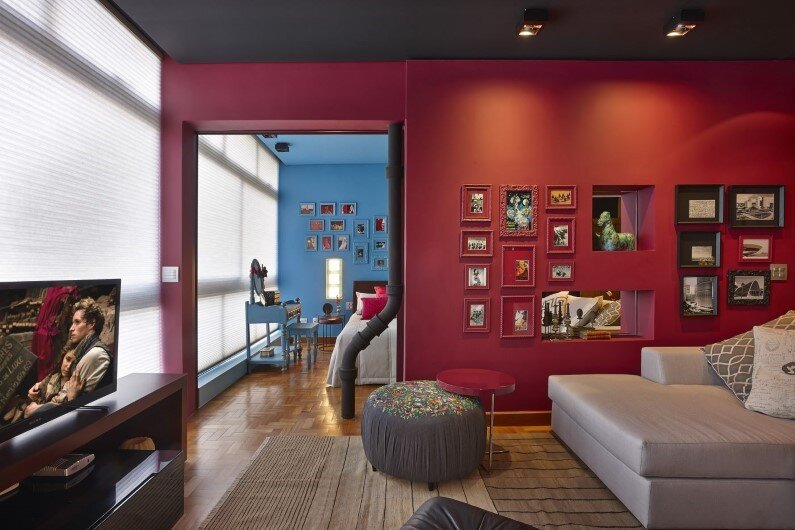 Retro style revived Santo Agostinho apartment renovated by architect Gislene Lopez - www.homeworlddesign.com   (9)