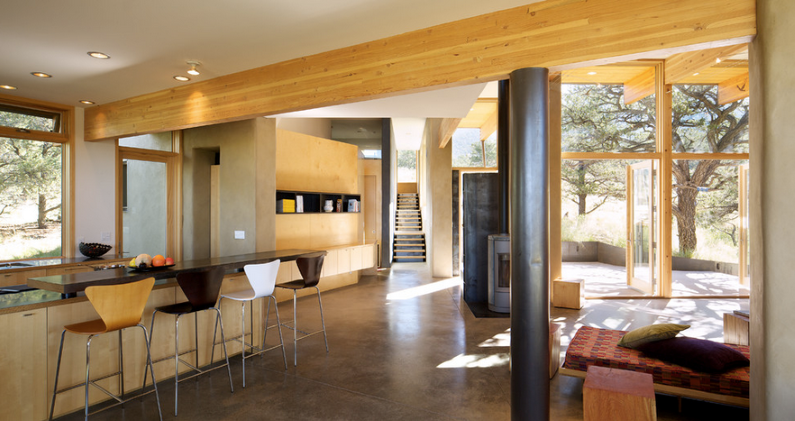 Strawbale Getaway by Gettliffe Architecture - www.homeworlddesign.com (10)