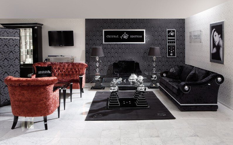 Upholstered lounge suites: art of beauty by Finkeldei