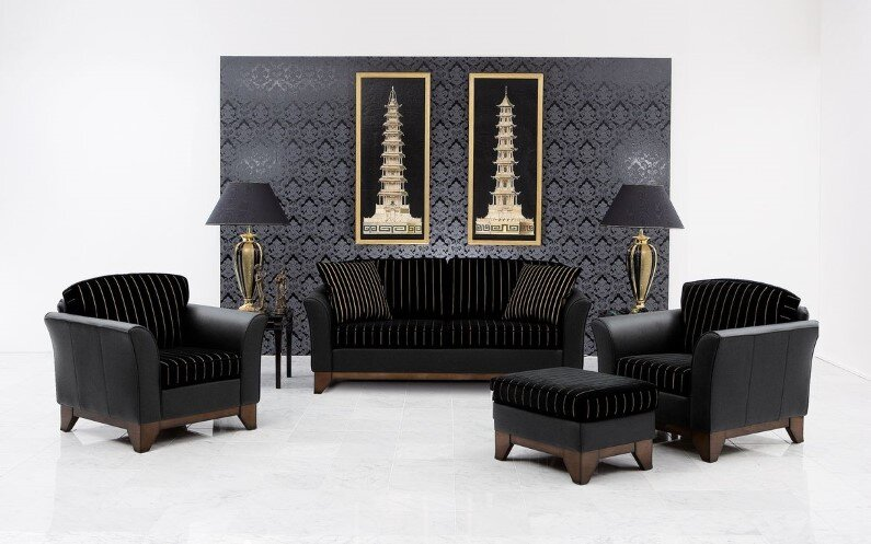 Upholstered lounge suite art of beauty by Finkeldei - www.homeworlddesign.com  (9)
