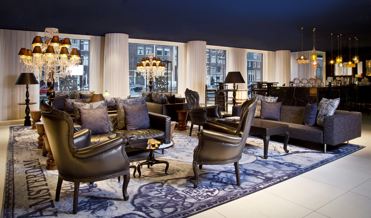 Andaz amsterdam a heart that transmits the vibration of for Interior design amsterdam
