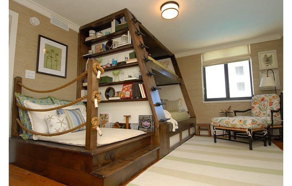Bunk bed for kids 39 room by del mar Funny bedroom