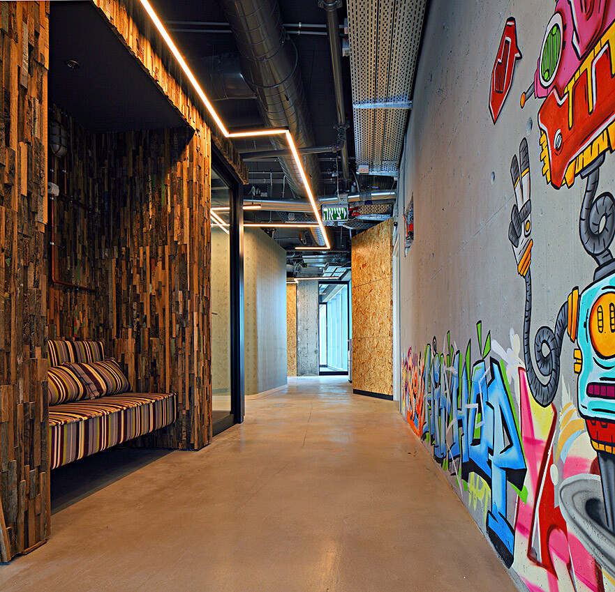 Inside Autodesk's New Offices : Setter Architects